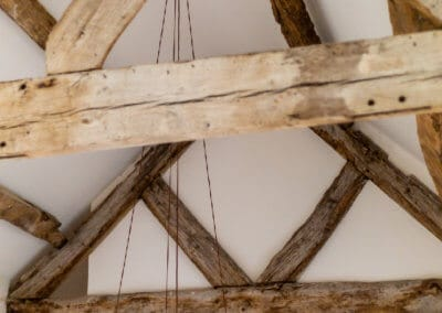 16th Century oak beams