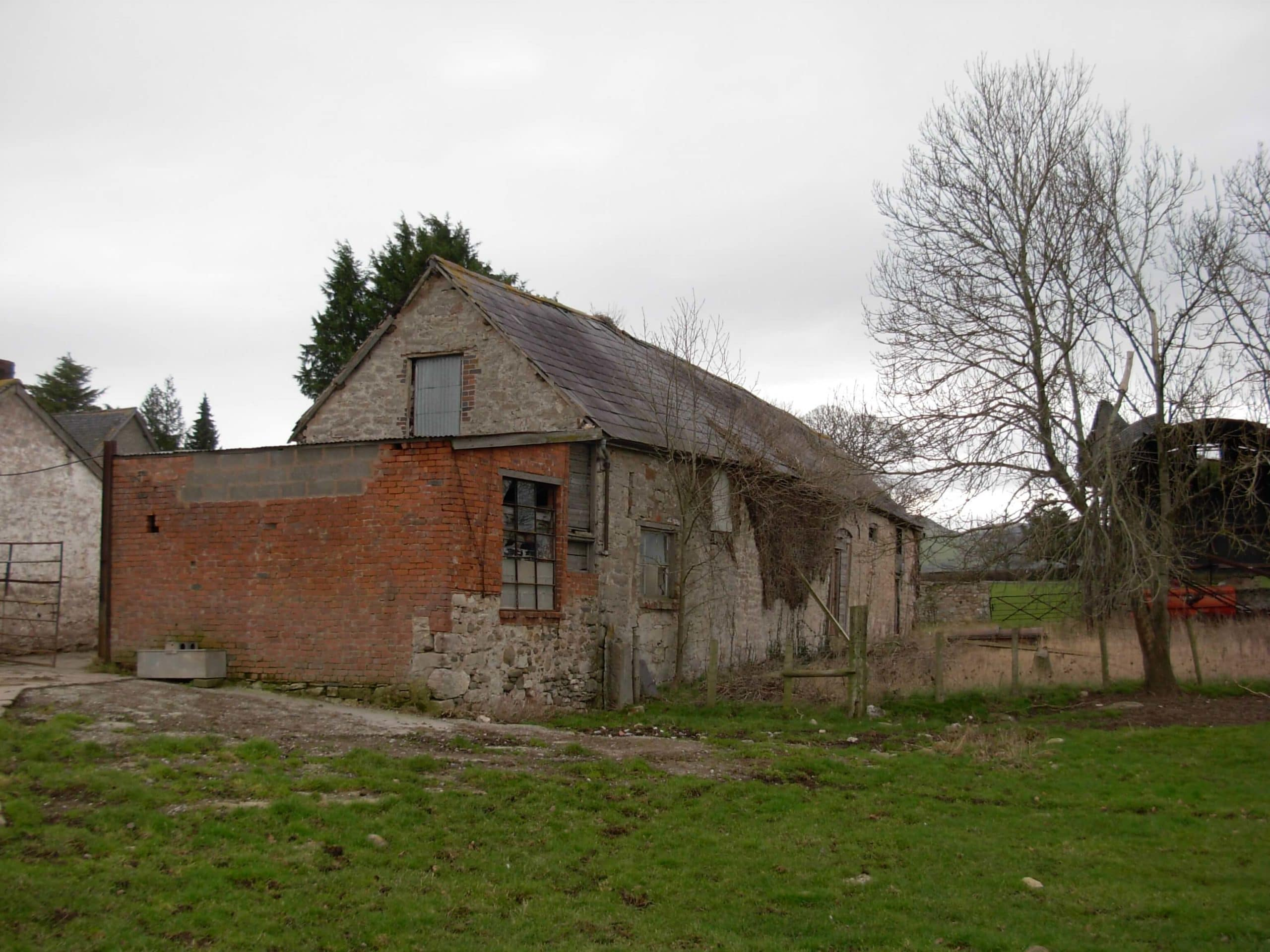 The Longbarn before renovation