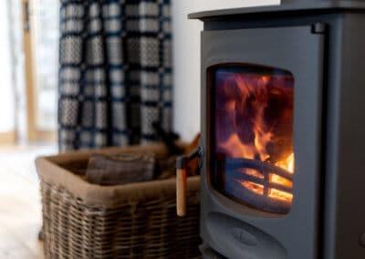 The Charnwood logburner